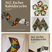 M. C. Escher Kaleidocycles by Doris Schattschneider & Wallace Walker - POMEGRANATE ART BOOKS