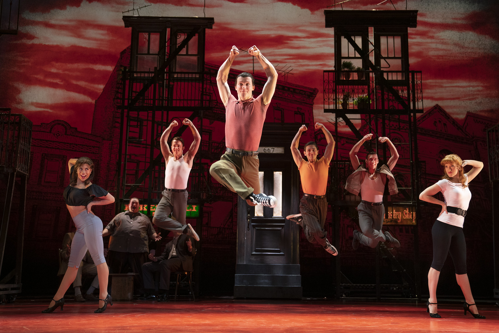 Broadway in Detroit: 'A Bronx Tale' at the Fisher Theatre Jan. 21 - Feb. 2, 2020