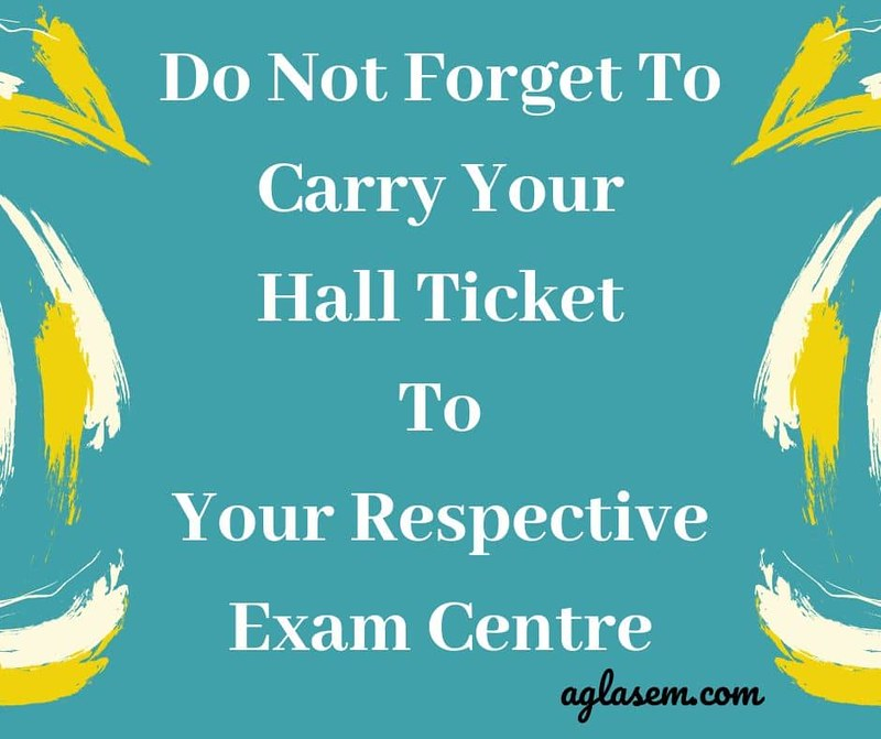 NIOS 12th Hall Ticket April 2020