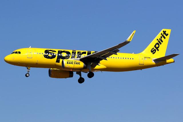 Spirit Airlines | Airbus A320-200 | N650NK | Los Angeles International