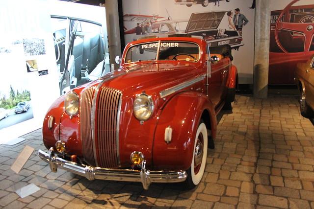 1939 Opel Admiral Cabriolet        Einbeck PS Speicher 07.01.2020