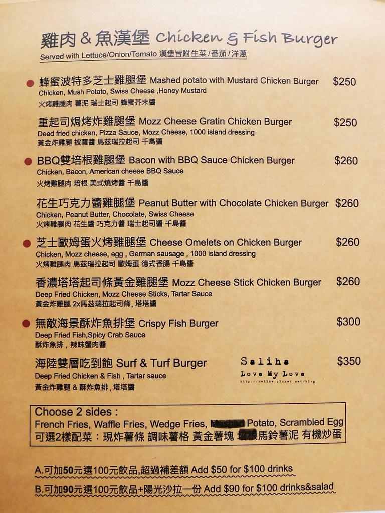 台北Stan Cat史丹貓美式餐廳西門店菜單價位訂位menu低消服務費用餐時間 (6)