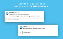 HROnBot for Slack