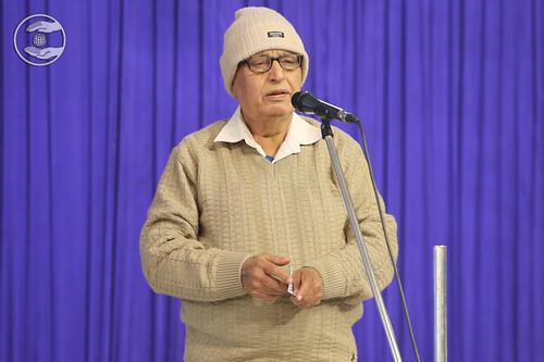 Bhashi Multani Ji presented Punjabi Kavita