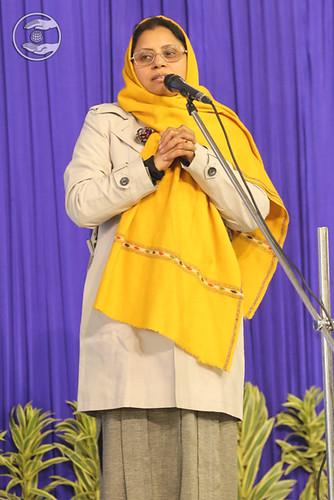 Speech by Dr. Urmil Jindal Ji, Mayur Vihar, Delhi