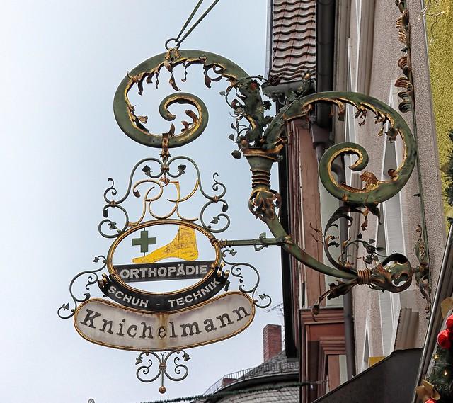Aschaffenburg Schild