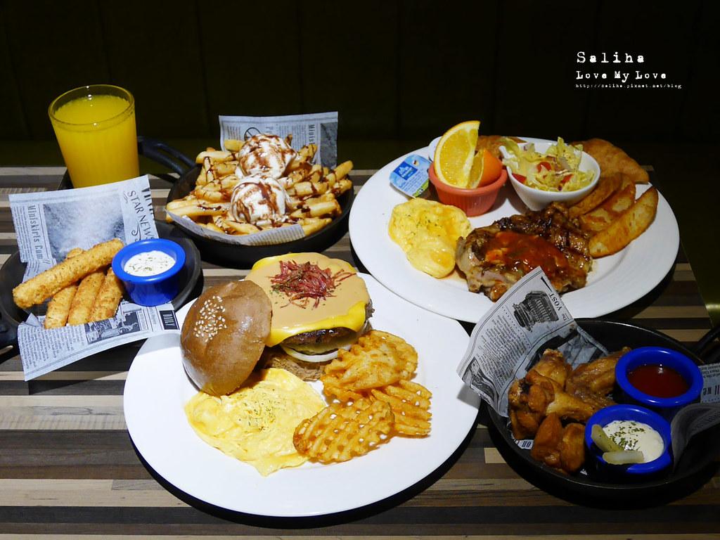 台北西門站美食Stan Cat史丹貓美式餐廳食記分享漢堡