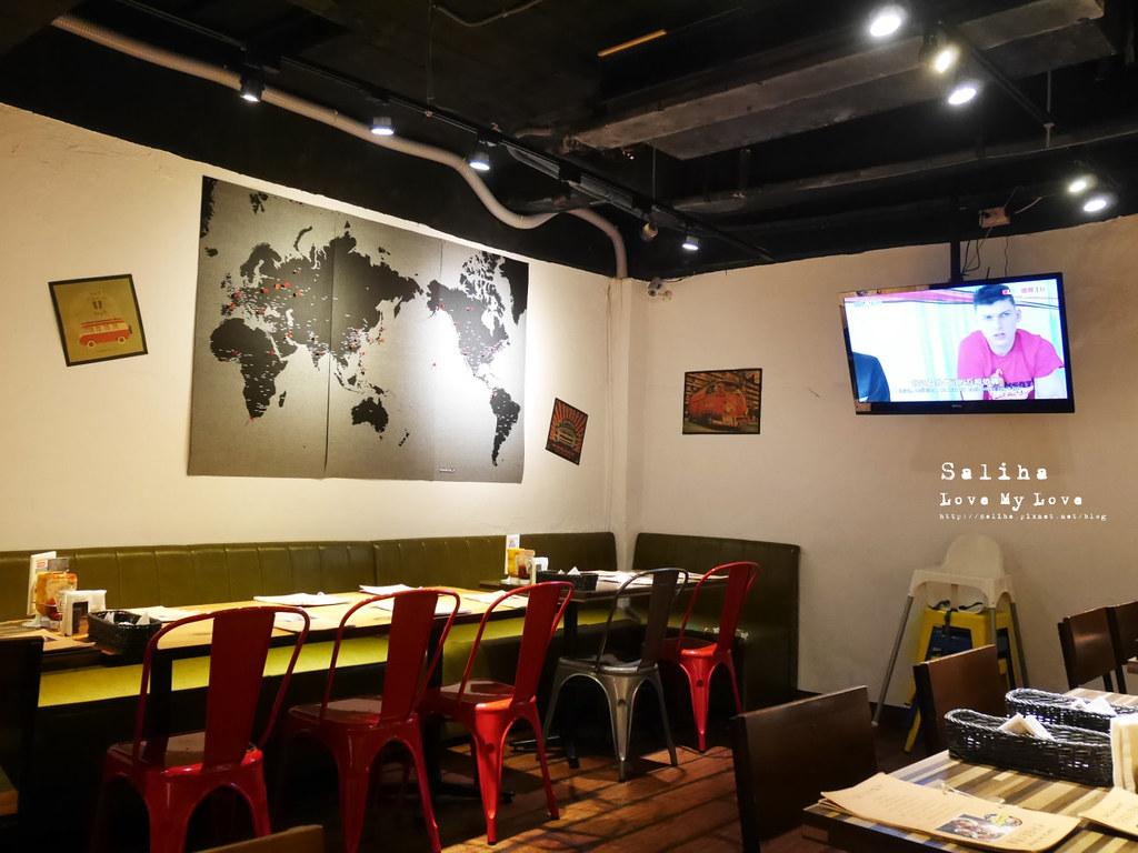 台北西門町可帶寵物餐廳Stan Cat史丹貓美式料理好吃漢堡早午餐 (1)