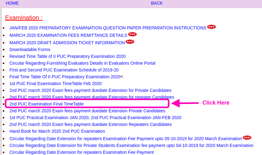 Karnataka 2nd PUC Time Table 2020 | 12th Exam Date (English Exam Date Out)