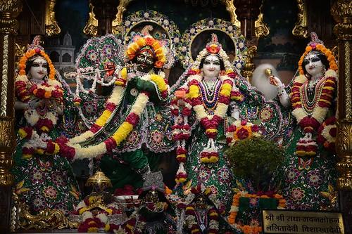 ISKCON Ujjain Deity Darshan 08 Jan 2020