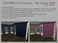 Linden Home Victorian - The Verne: Shell