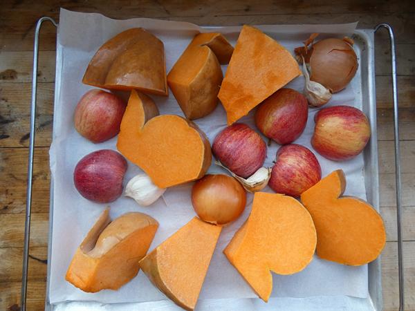 pommes et courges