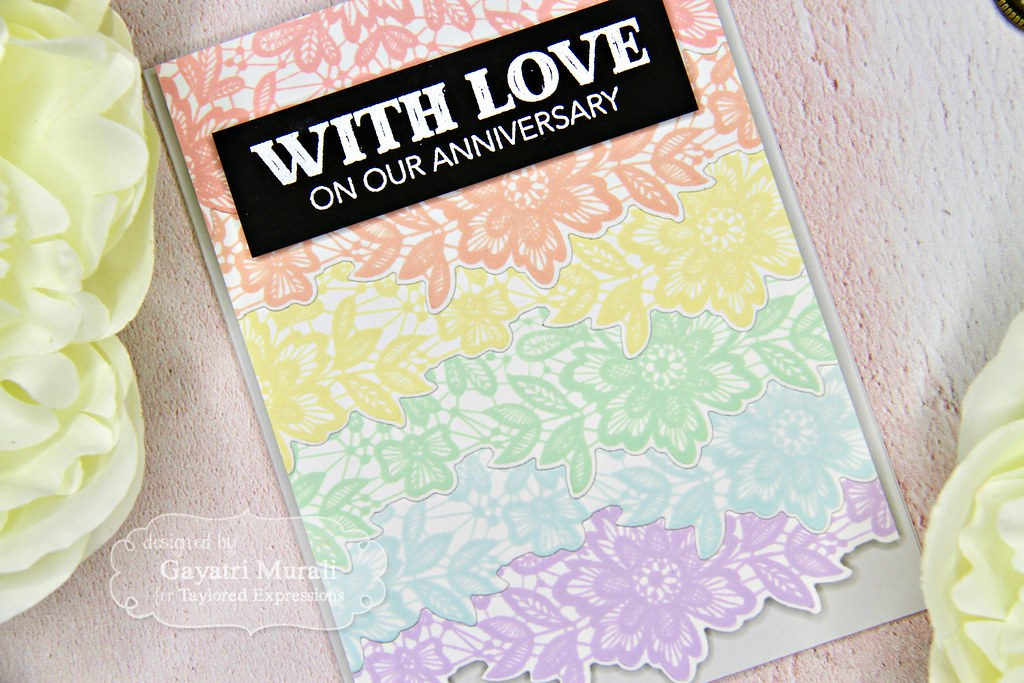 Gayatri Wed card #1 closeup