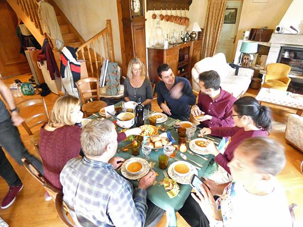 tablée de Thanksgiving