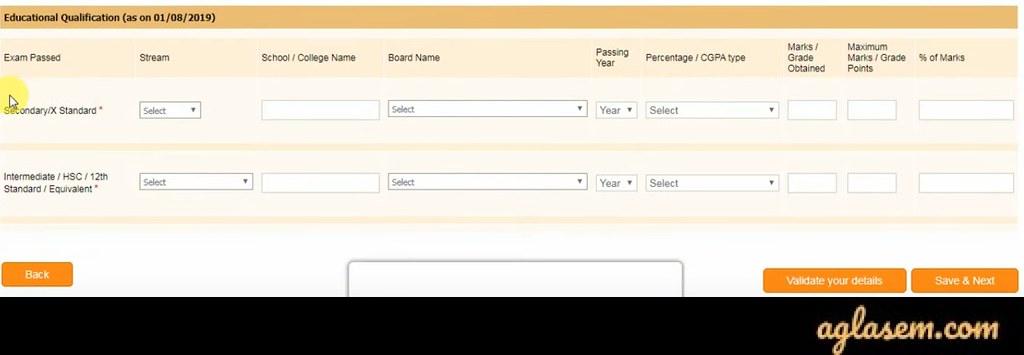 Bihar Amin Online Form 2020