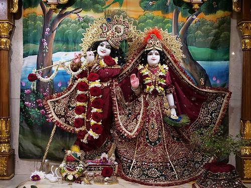 ISKCON London Deity Darshan 08 Jan 2020