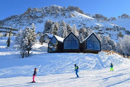 Kultovní sjezdovky v lyžařské oblasti Val di Fiemme-Obereggen