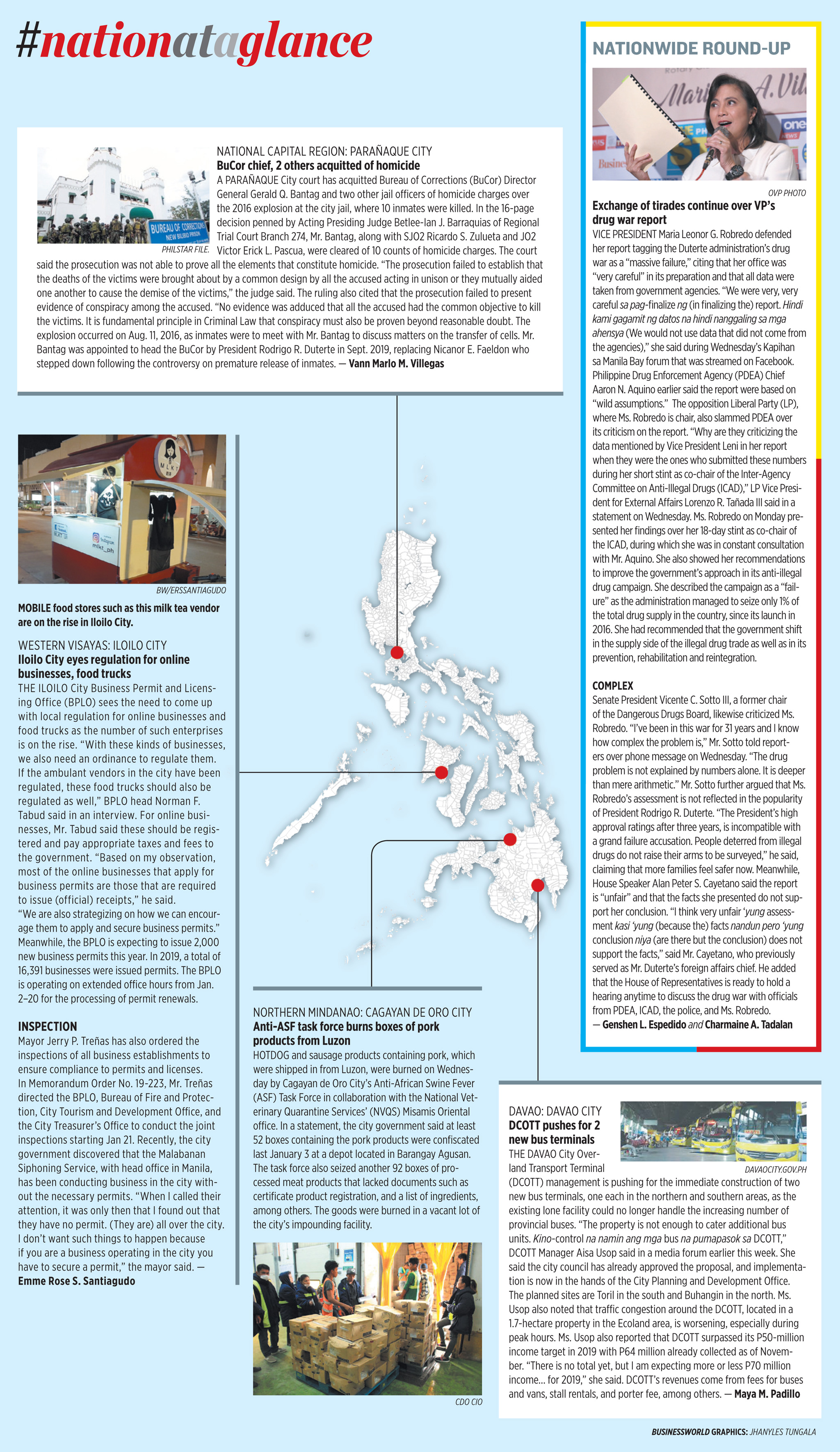 Nation at a Glance — (01/09/20)