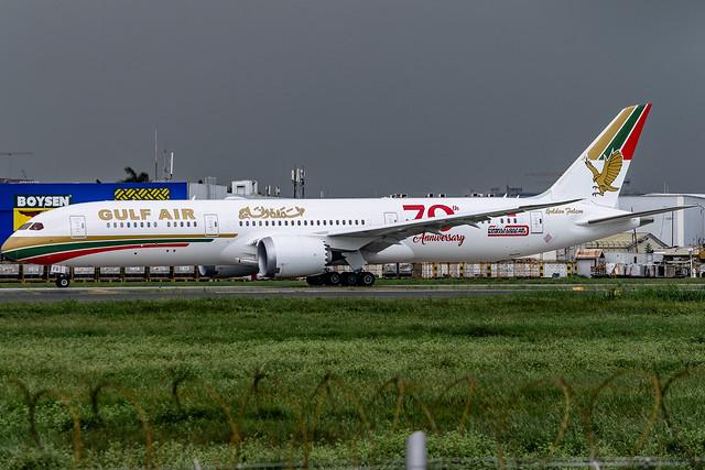Gulf Air - Boeing 787-9 Dreamliner / A9C-FG @ Manila