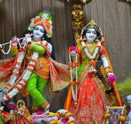 ISKCON Bangalore Deity Darshan 08 Jan 2020