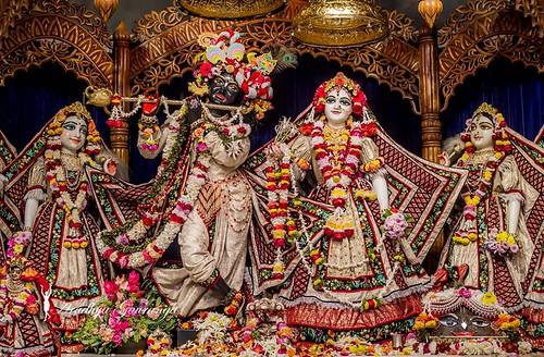 ISKCON Mayapur Deity Darshan 08 Jan 2020
