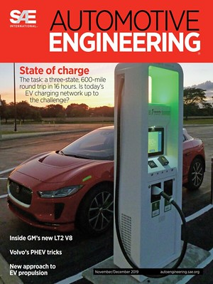 SAE International - Automotive Engineering front cover