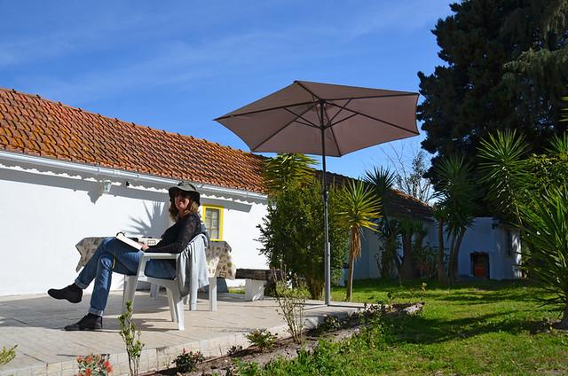 Andy at the quinta, Palmela, Portugal