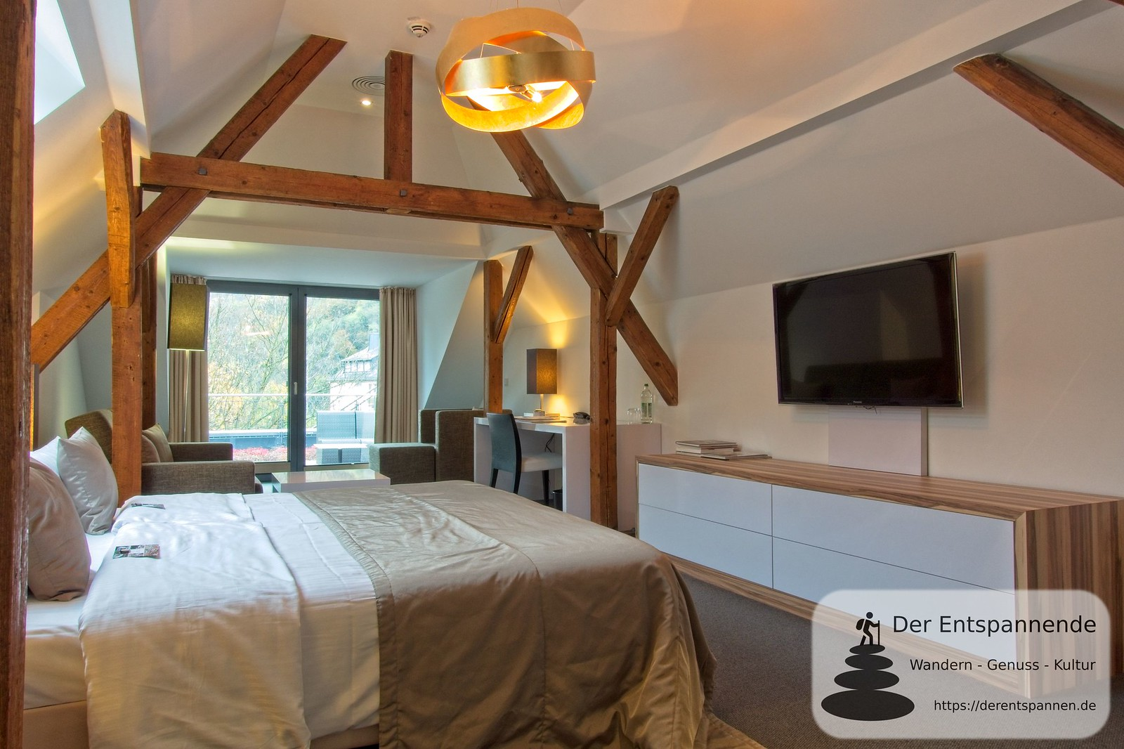 Penthouse-Suite im Hotel im Schulhaus (Lorch)