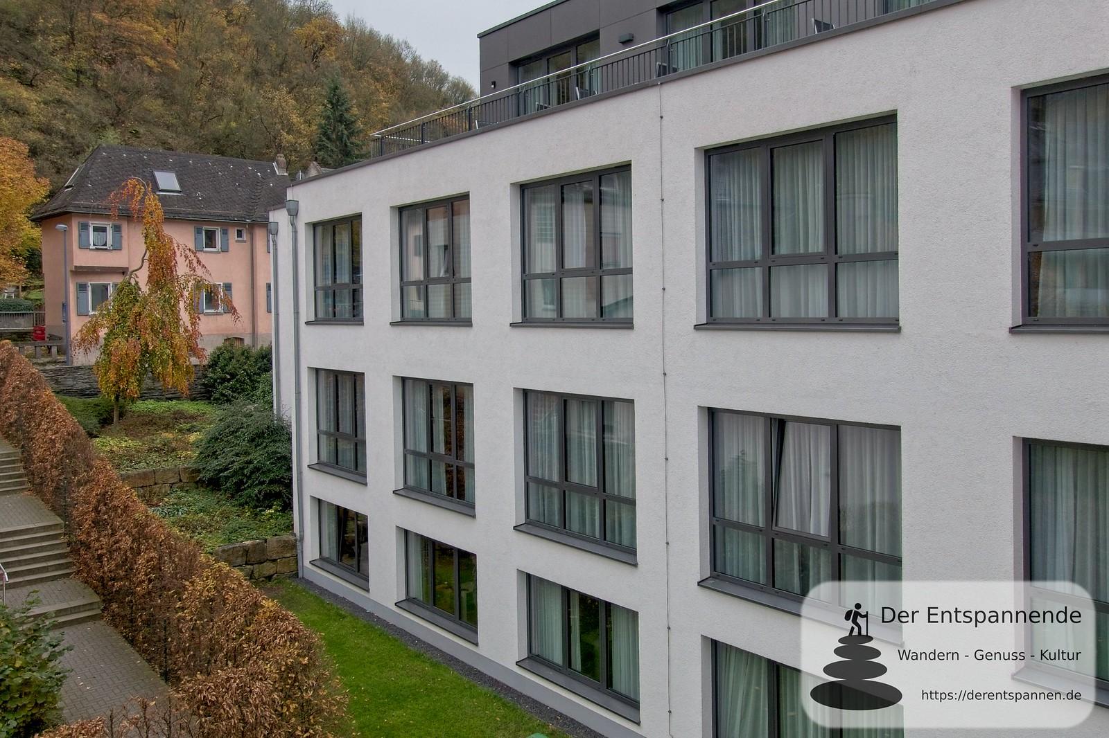 Anbau im Bauhausstil, Hotel im Schulhaus (Lorch)
