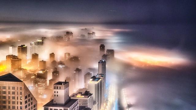Night Lights - Chicago