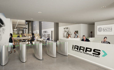 IAAPS Internal Reception CGI image