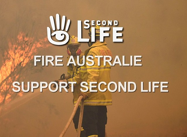 Fire australia support second life