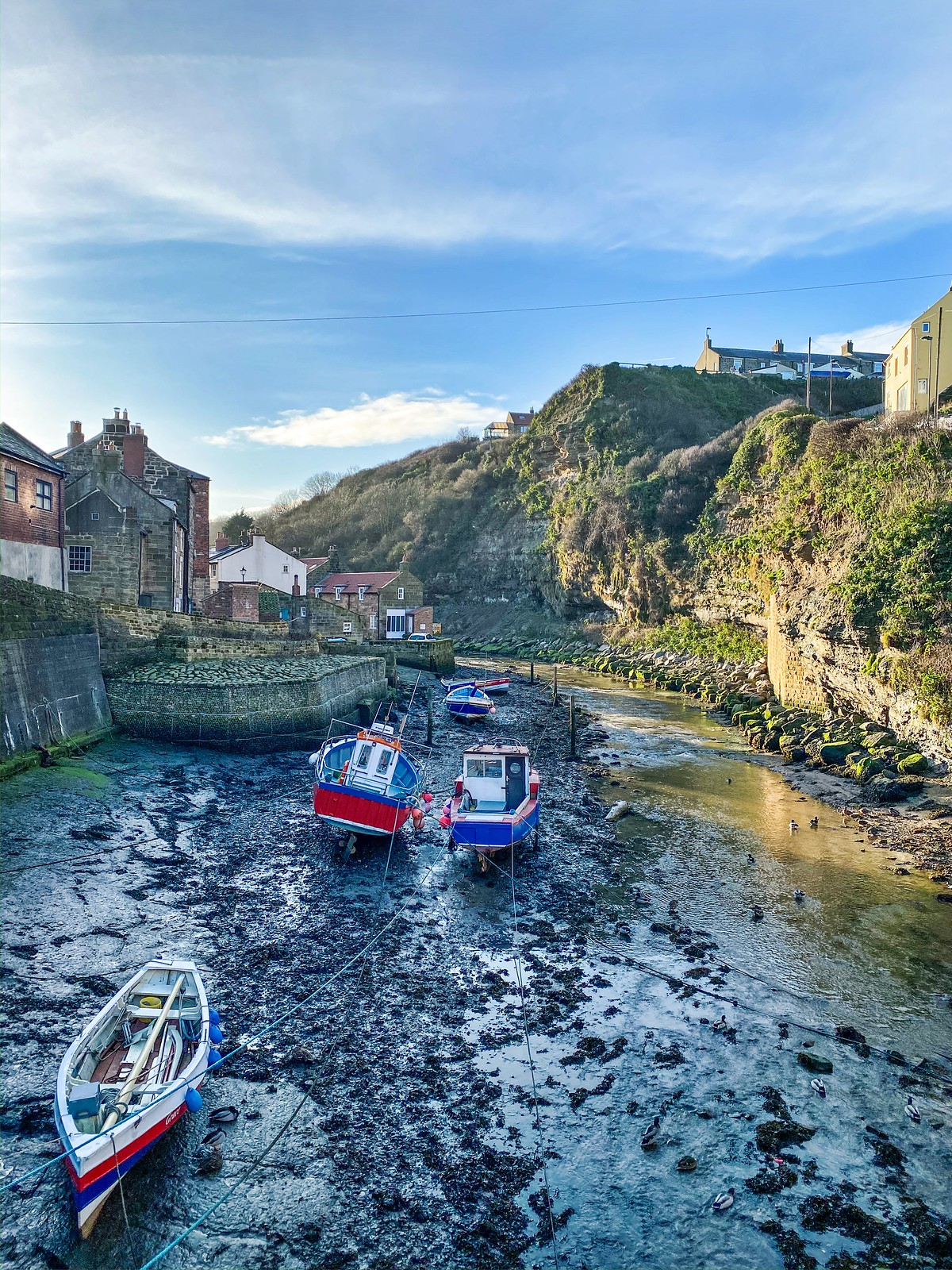 an afternoon in staithes