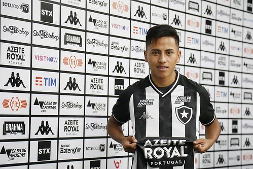 Apresentação de Lecaros do Botafogo - 08/01/2020