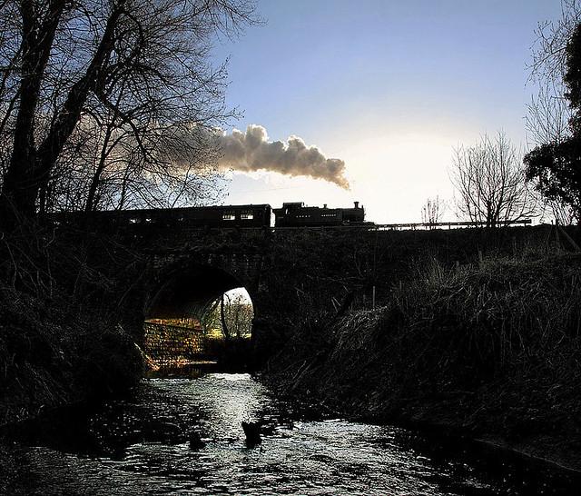 Hay Bridge from the Dark Side