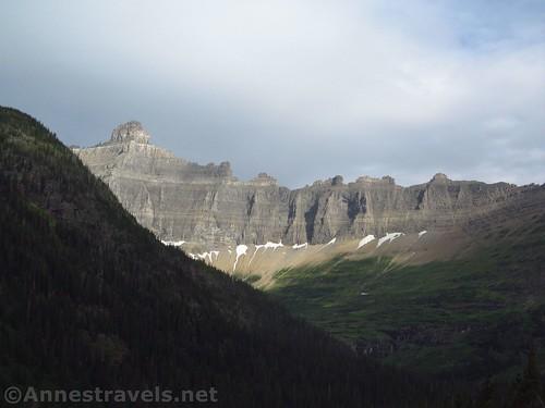 The Ice Wall, Glacier National Park, Montana
