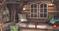 Trompe Loeil - Zenovia Caravan for Collabor88 January