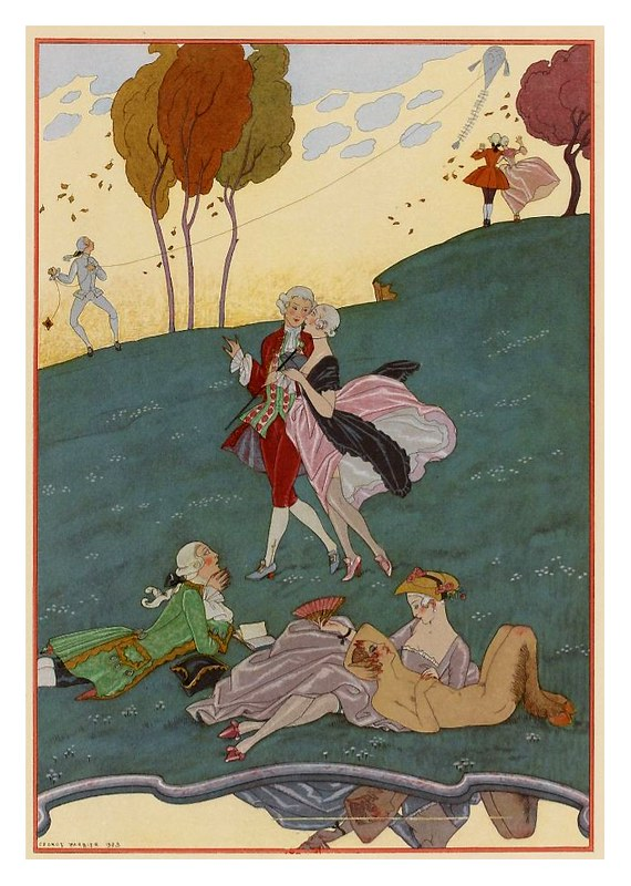 008-Los ingenuos-Fêtes galantes. Illustrations de George Barbier-1928-Gallica