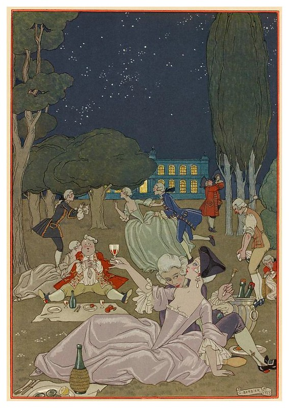 006-En la Hierba-Fêtes galantes. Illustrations de George Barbier-1928-Gallica