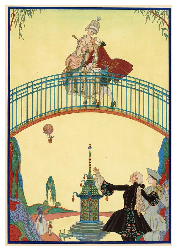 004-En el paseo-Fêtes galantes. Illustrations de George Barbier-1928-Gallica