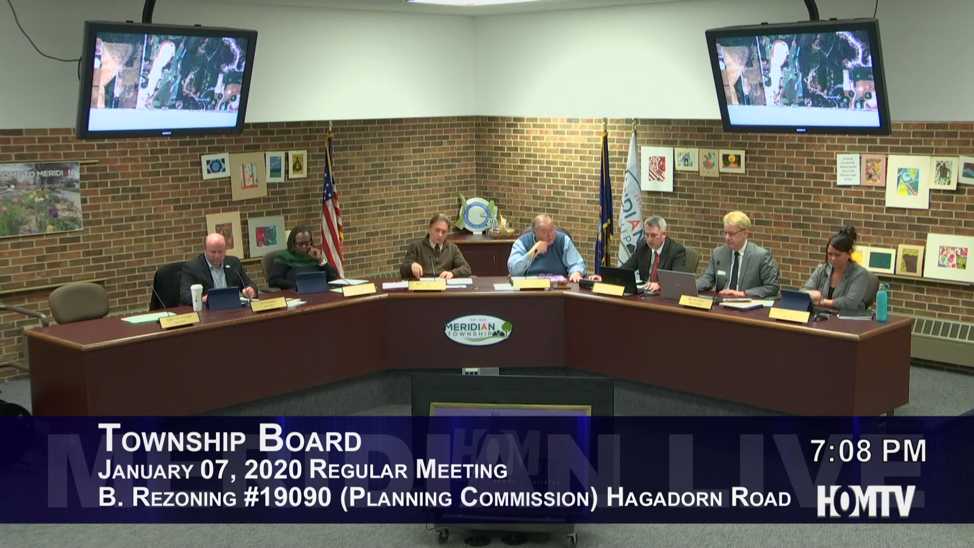 Township Board Discusses Residential Property Requests Along Hagadorn Road