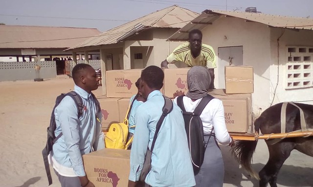 Million Books to The Gambia/January 2020