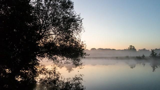 Früh morgens an der Ruhr