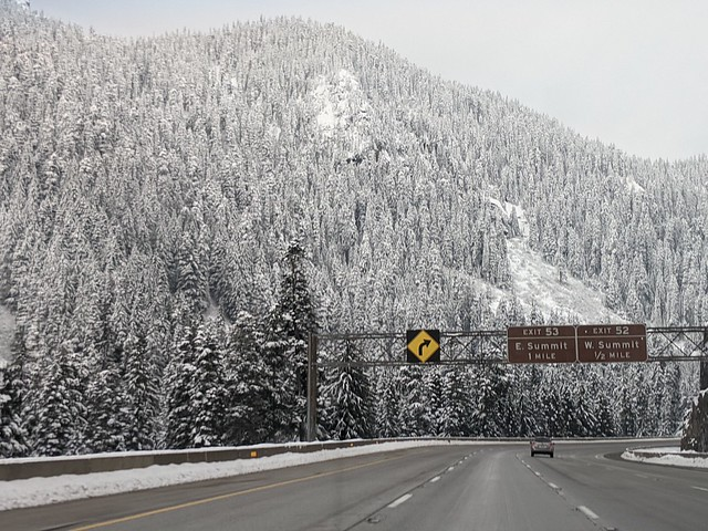 Driving to Leavenworth