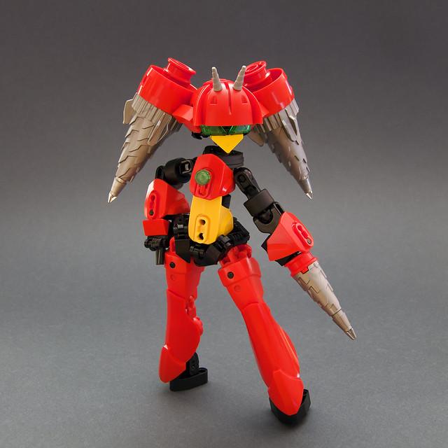 Panic Auger Scarlet
