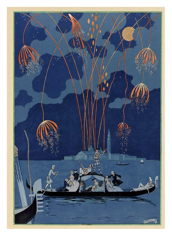 009-En barca-Fêtes galantes. Illustrations de George Barbier-1928-Gallica