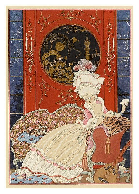 010-La carta-Fêtes galantes. Illustrations de George Barbier-1928-Gallica