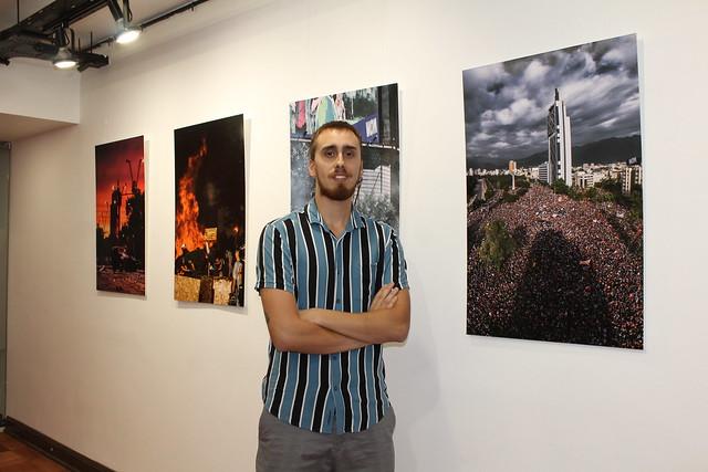 """Inauguración expo """"18/10 punto de inflexión"""" en Sala Cable al Arte"""