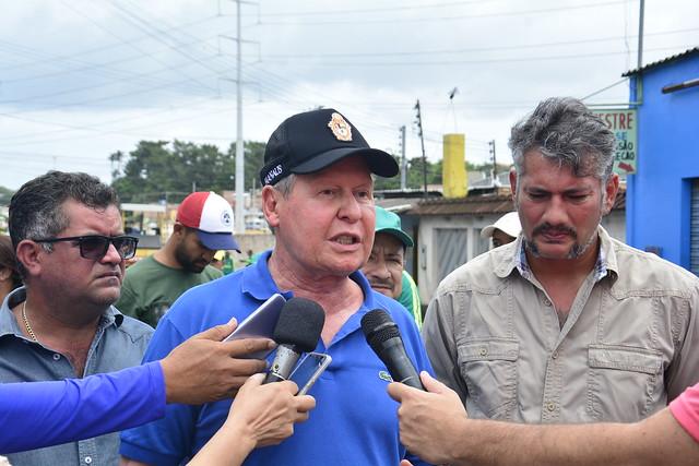 Novo Aleixo recebe obras de infraestrutura e operação tapa-buracos