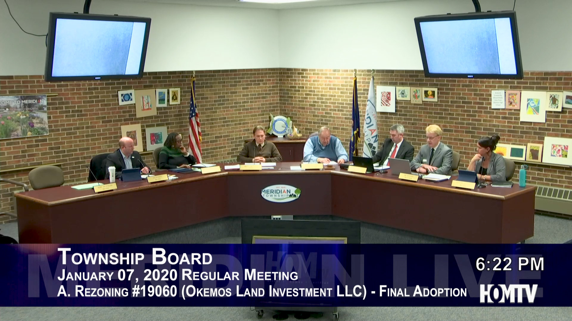Township Board Discusses Okemos Land Investment Rezoning